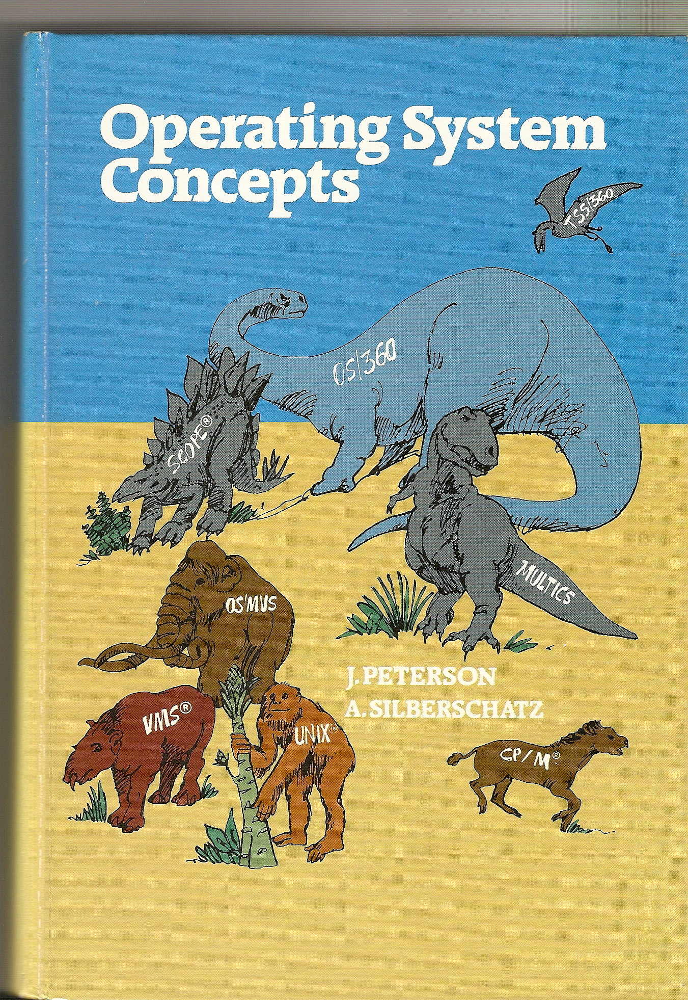 History of operating system concepts textbook peter baer galvins blog osc 1st edition fandeluxe Image collections